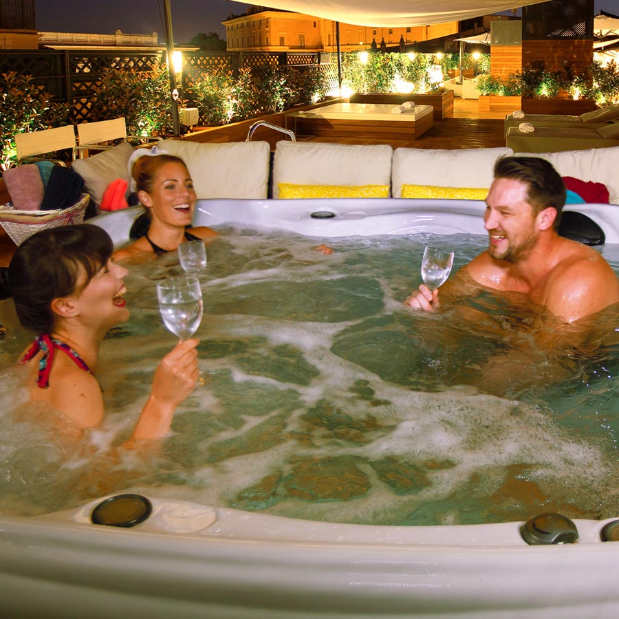 Clearwater 5 Person 13Amp Hot Tub | All American Spa