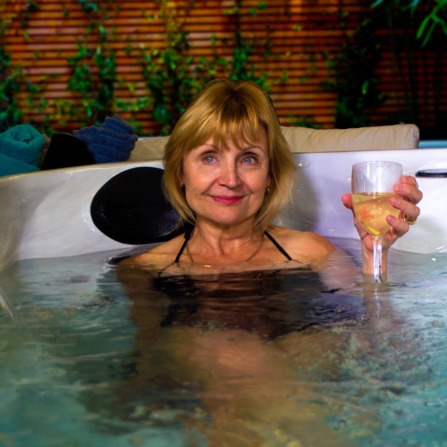 Cheers to Life With American Luxury Clearwater Hot Tub | All American Spa