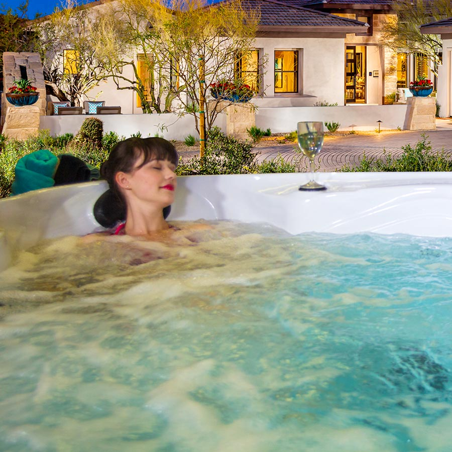 Soak & Relax in Clearwater 5 Person American Hot Tub | All American Spa