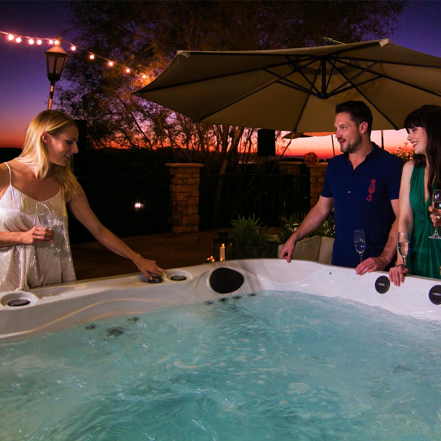 Brunswick 6 Person Hot Tub Luxury Lifestyle | All American Spa