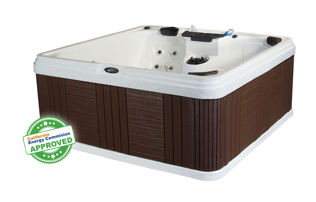 Sunset Bay 5 Person Energy Efficient 13 Amp Hot Tub | All American Spa