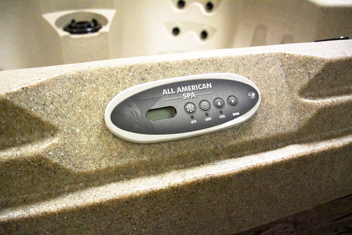 Palm Beach American Hot Tub With Balboa Control System | All American Spa