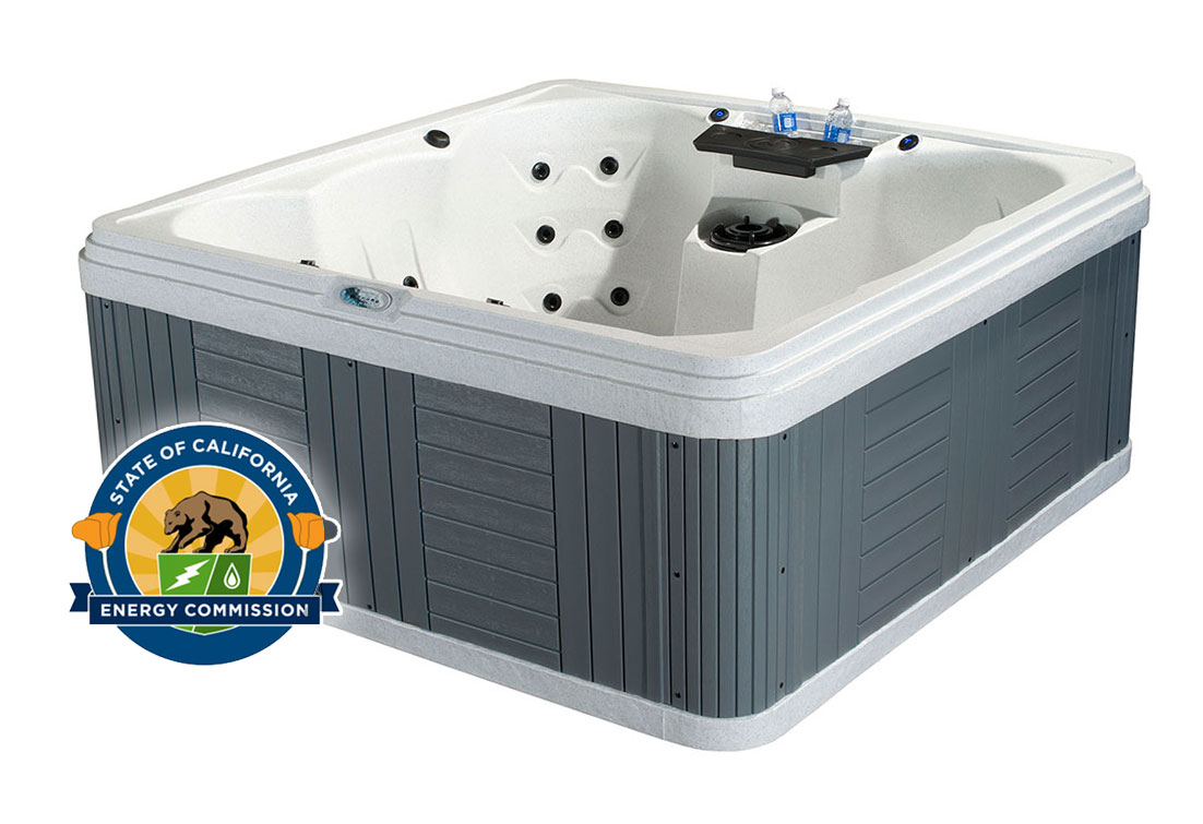 Palm Beach 7 Person Energy Efficient Hot Tub | All American Spa