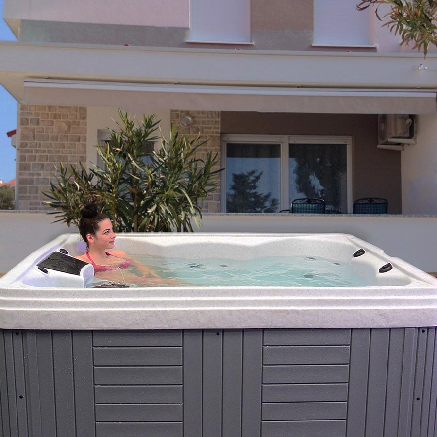 Palm Beach 7 Person Hot Tub For Your Indulgence | All American Spa
