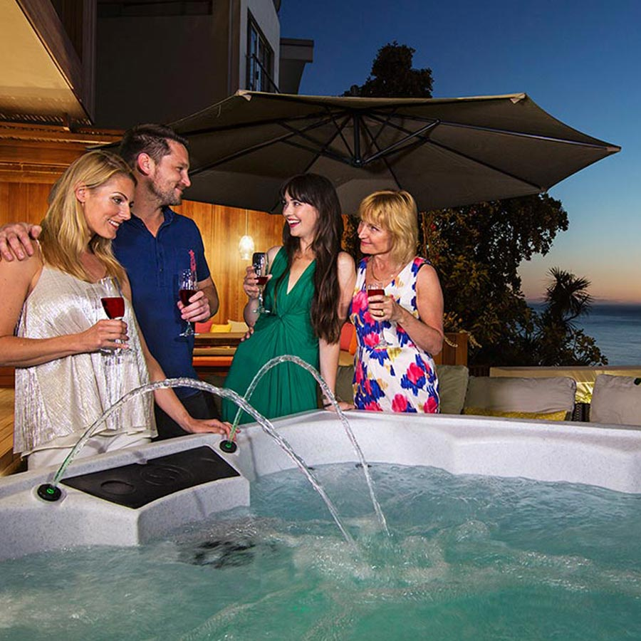 Palm Beach 7 Person Hot Tub For Family To Enjoy | All American Spa