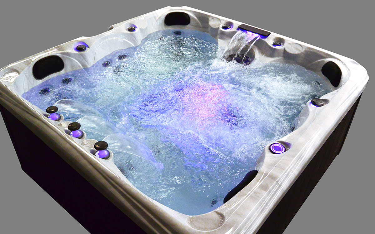 Malibu 3 Hot Tub Water Features With LED Lights | All American Spa