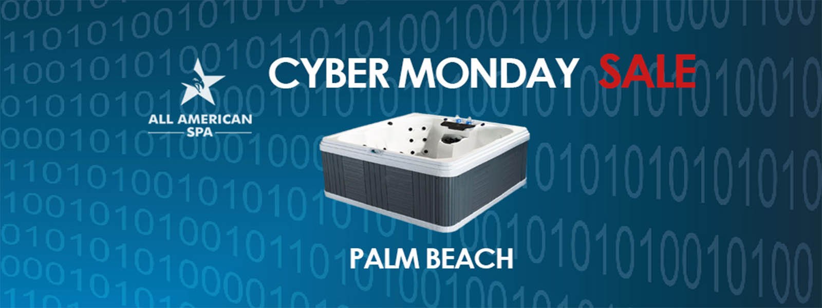 All American Spa | Palm Beach Cyber Monday Hot Tub Deal | All ...