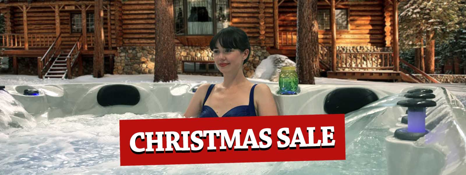 Christmas Online Sale For American Luxury Hot Tubs | All American Spa