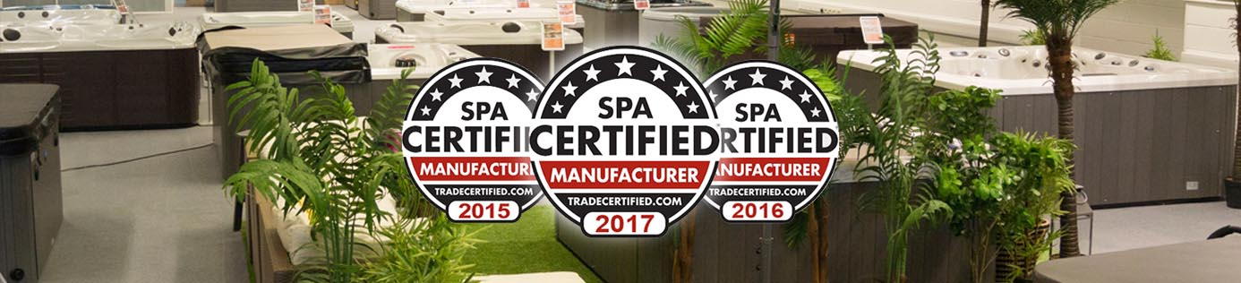 All American Spa | Certificate